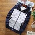 2016 outono Hoodies Ocasionais Camisolas dos homens Dos Homens Com Capuz moda Splice zipper jaquetas de Algodão Fino Frete grátis
