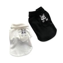Купить с кэшбэком Cute Pet Dog Clothes French Bulldog Schnauzer Funny t Shirts Yorkshire Terrier Camiseta Perro Corgi Sphynx Clothes Pets 5d0061