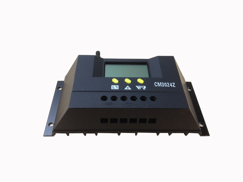 Régulateur solaire 30A 12 v 24 V Solaire Contrôleur de Charge CM3024Z PWM  Écran lcd 200f4994afe
