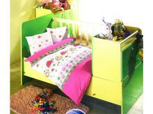 Комплект постельного белья для новорожденных ALTINBASAK, NESELI, розовый