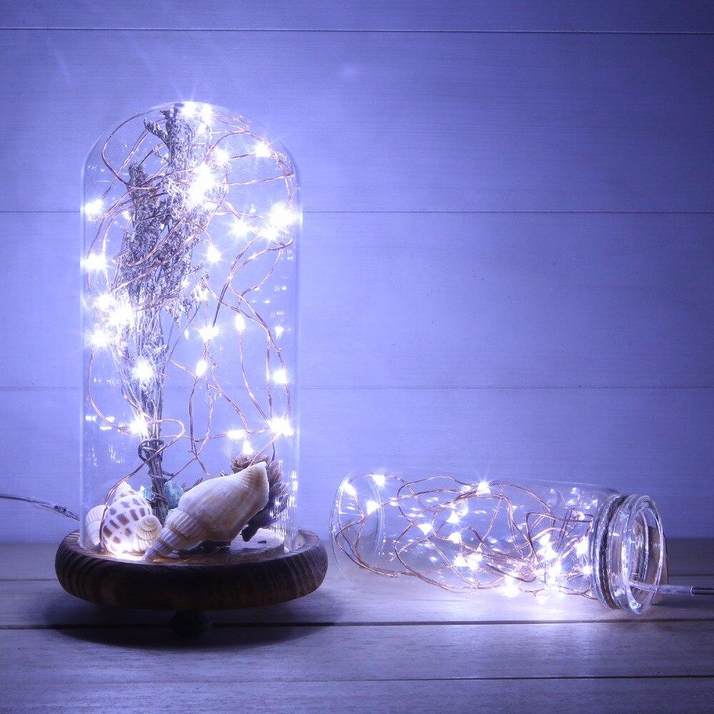 Fantastisch Cool White Led Weihnachtsbeleuchtung Weißen Draht Fotos ...