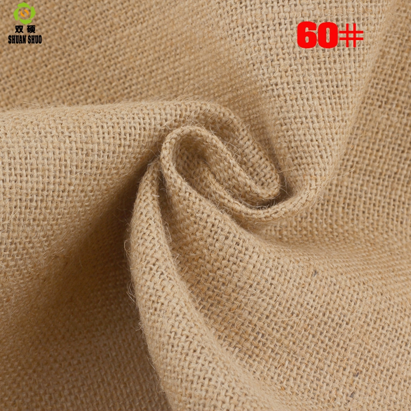 ShuanShuo 30 80 Jute Fabric Sack Linen Cloth For DIY Hand Work Storage Bags Christmas Decoration 160 50cm in Fabric from Home Garden
