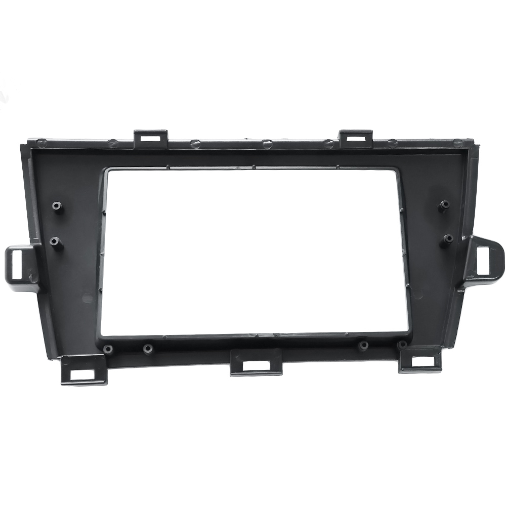 Top quality 2 DIN Car Radio Fascia for TOYOTA Prius LHD 2010+ stereo fascia frame panel dash mount kit adapter trim Bezel facia-in Auto Fastener & Clip from Automobiles & Motorcycles    2