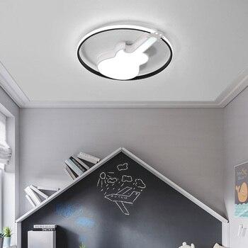 Modern LED Ceiling Chandelier Children Bedroom Study Metal Surface Installation Cartoon Chandelier Children Girl And Boy Lights