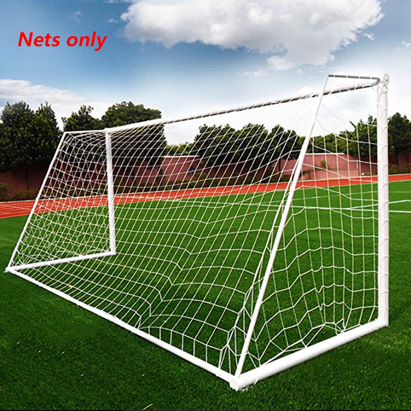 3X2M Soccer Goal Net Football Nets Mesh Football Accessories For Outdoor Football Training Practice Match Fitness (Nets Only) image