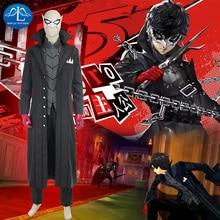 Manluyunxiao игры Косплэй костюм персона 5 Косплэй костюм джокер костюм полный комплект для Хэллоуина Kaitou Косплэй костюм для Для мужчин