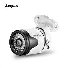 """Azishn h.265 + 4mp 2560*1440 metal ip câmera xm530ai + 1/2. 7 """"sc5239 sensor 36ir onvif p2p detecção de movimento rtsp cctv ao ar livre xmeye"""
