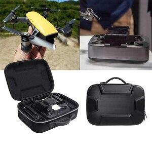 Image 5 - מים עמיד קשה Drone תיבת לdji ניצוץ & מטען & מרחוק בקר נסיעות לשאת שקית אחסון מקרה תיבה פאוץ עבור טעינה