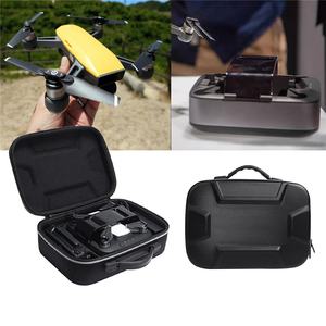 Image 5 - Water resistant Hard Drone Box for DJI Spark & Charger & Remote Controller Travel Carry Bag Storage Case Box Pouch for Charging