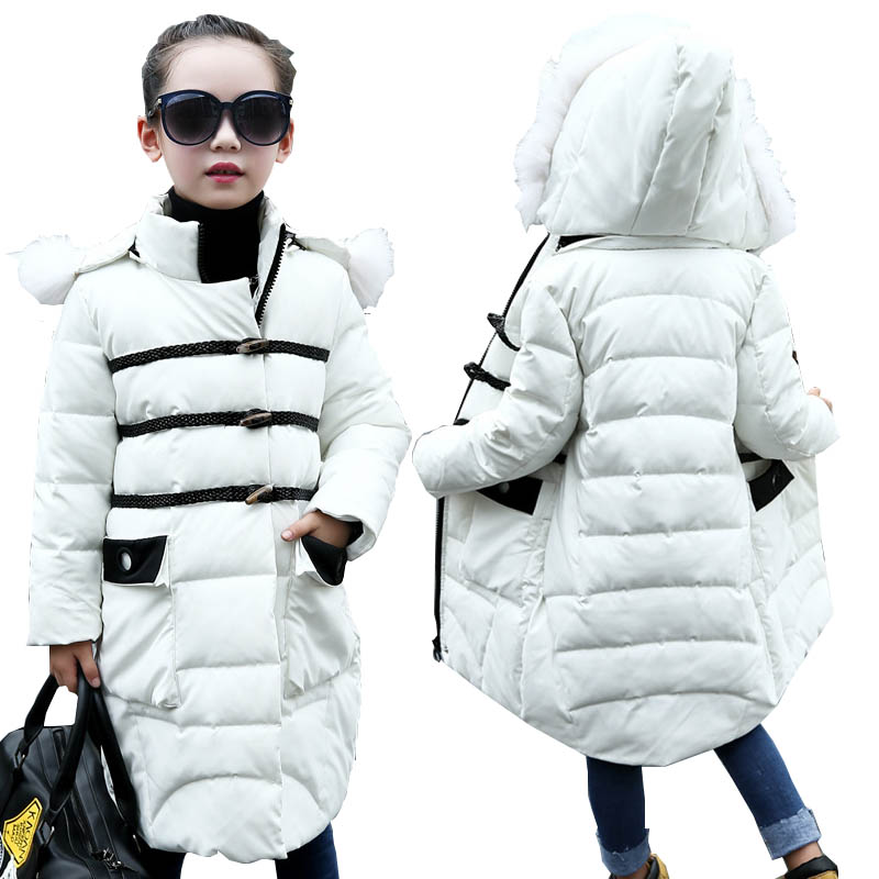 Girls winter coats kids down jackets outerwear coats kids down parkas children jackets for girls jackets warm girls clothes 4-12 children winter coats jacket baby boys warm outerwear thickening outdoors kids snow proof coat parkas cotton padded clothes
