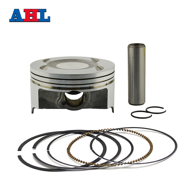 Motorcycle Engine parts STD Cylinder Bore Size 78mm Pistons & Rings Kit For KAWASAKI KL250 KL 250 1997-2010 parts for changchai zn490q engine gasket piston rings cylinder liner main bearings water temp sender water pump pistons