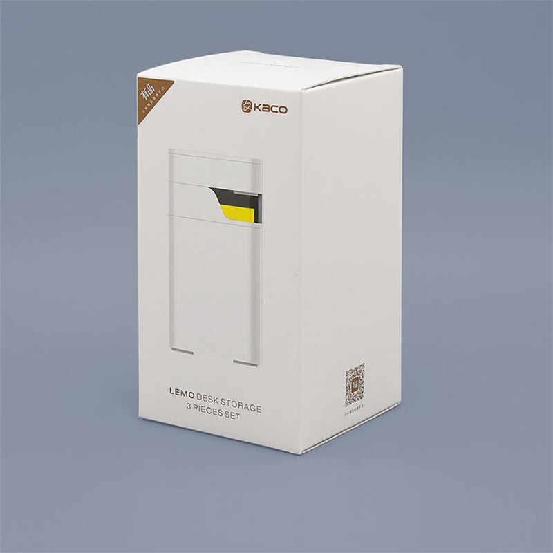 Xiaomi kaco lemo デスクトップ収納ボックス収納ボックス注ボックス製品ボックス 3 1 でアセンブリ送料シンプルな設計作業オフィスのための fam