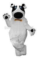 Маскоты белая собака флэш рекламы для взрослых Маскоты костюм животного Маскоты костюм для продажи Cosply карнавальные костюмы наряд