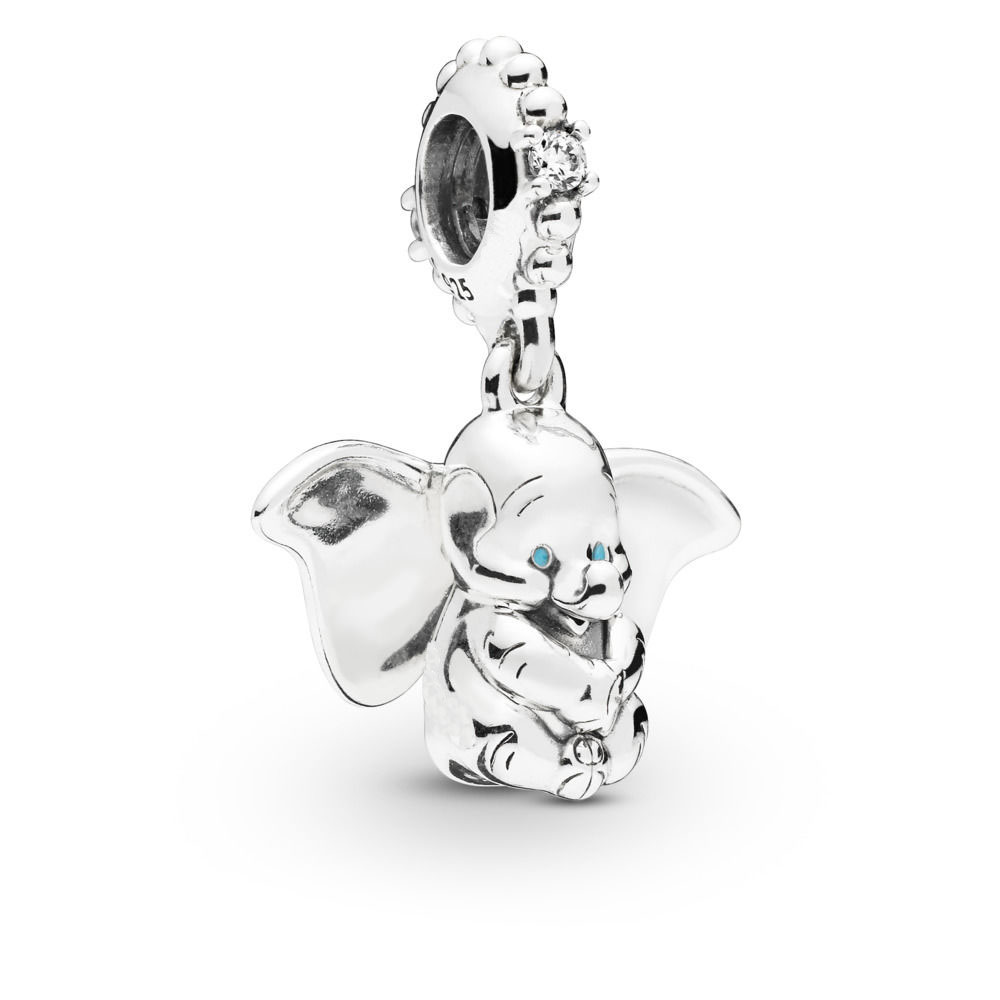 1038c1b216faa 2019 New 925 Sterling Silver Dumbo Charm Fit Original pandora Bracelet  Necklace Dumbo Pendant DIY ...