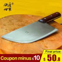 Cleaver messer metzger messer handgemachte geschmiedet edelstahl hacken knochen messer fleisch küche kochmesser кухонный нож