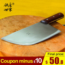 cleaver knives butcher knife handmade forged stainless steel chopping bone meat kitchen chef кухонный нож