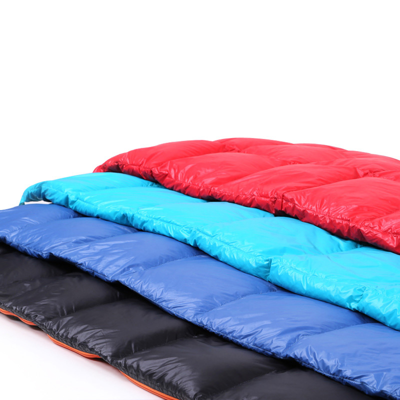 2017 Outdoor Adult Envelope Sleeping Bag Ultralight Down Camping Lazy Bag Waterproof Thermal Hiking Bed Beach Sleeping Bags mobi garden ultralight camping sleeping bag adult tents cotton filler envelope outdoor warm spring autumn hiking bags 1 9 0 73m