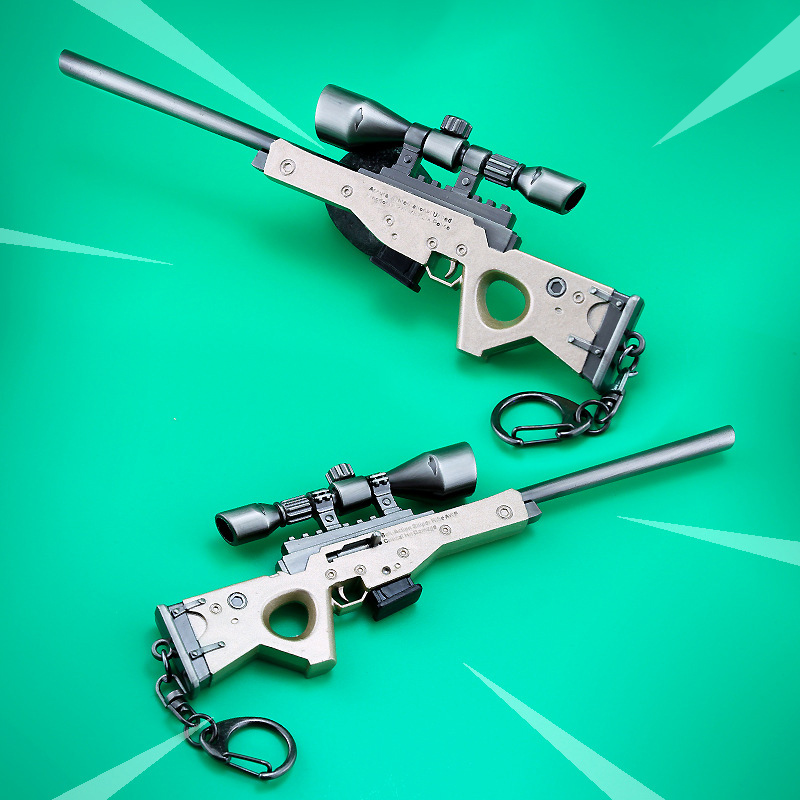 Fortnite Battle Royale Action Figure Kids Toy Awm Sniper Rifle Gun