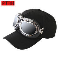 Fashion Summer Snapback Fitted Adjustable Dome Hip Hop Baseball Caps Pilot Glasses For Women Luxury Brand