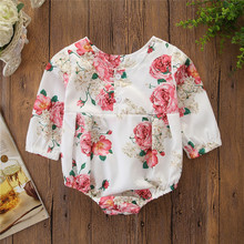 gxmjxdgmlndcp Newborn Girl Print floral Toddler cotton