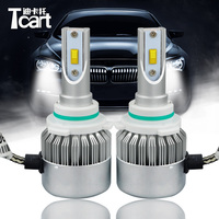 Tcart 2pcs headlight bulbs car led lamp 9006 HB4 DIPPED BEAM Low beam C6F 6000K FOR Lexus GS300 accessories 2008 led Headlight