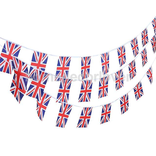 30Pcs of 10m Country Flags String Bunting Banner Garland Outdoor ...