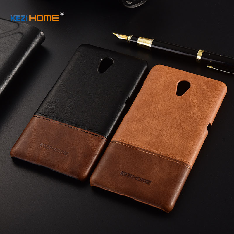 Case for Lenovo Vibe P2 KEZiHOME Luxury Hit Color Genuine Leather Hard Back Cover capa For Lenovo P2 5.5'' Phone cases