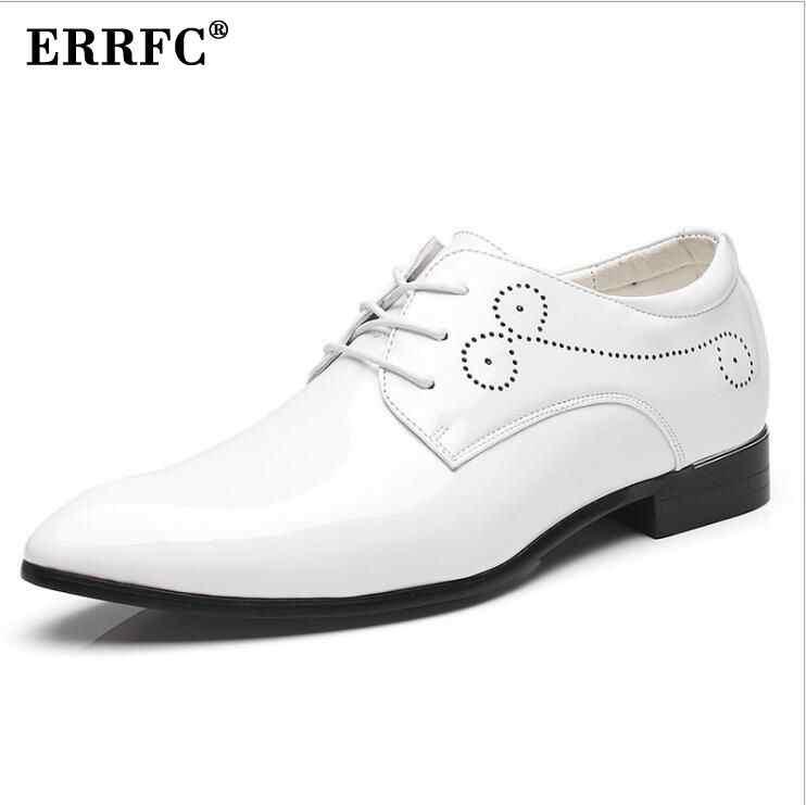 ERRFC Mens Red Dress Shoes Designer