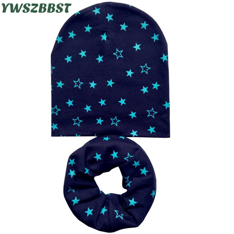 2020 New Spring Autumn Winter Girls Hat Set Crochet Children Hats Girl Boy Cap Baby   Beanies   Caps Toddlers Kids Hat Scarf Collars