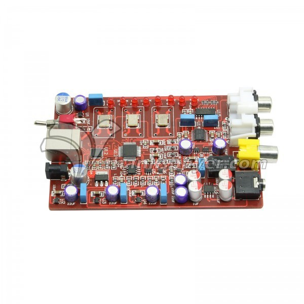 XMOS Encoder Board USB Encoder Support 384K Adopting XMOS+PCM5102+TDA1308