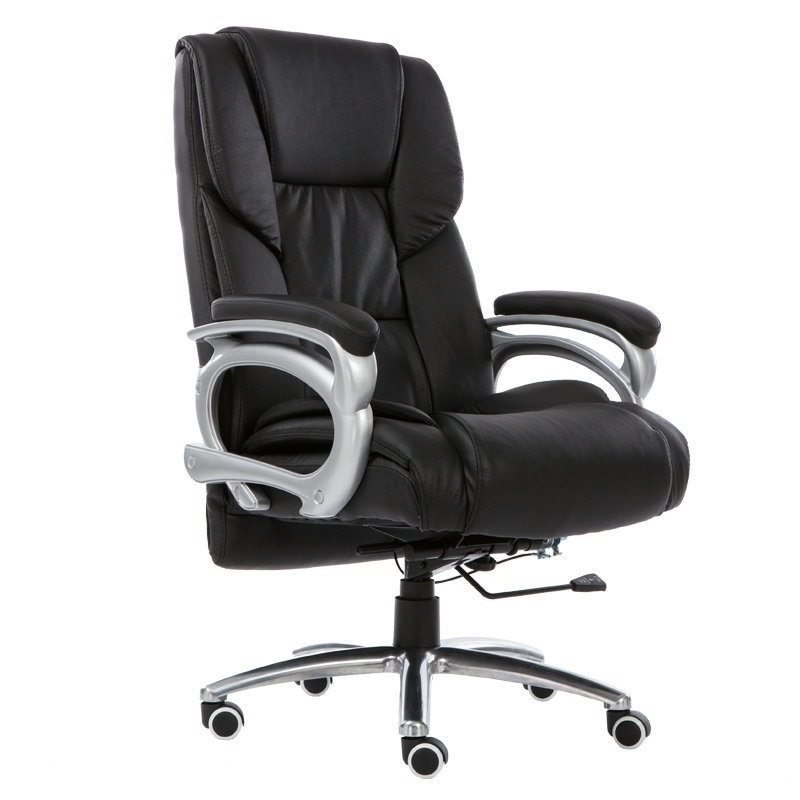 Concise Computer Chair Household To Work In An Office Can Lie Boss Chair Lift Swivel Chair Massage Footrest Noon Break You RU computer chair can lie lifting boss chair leather swivel chair