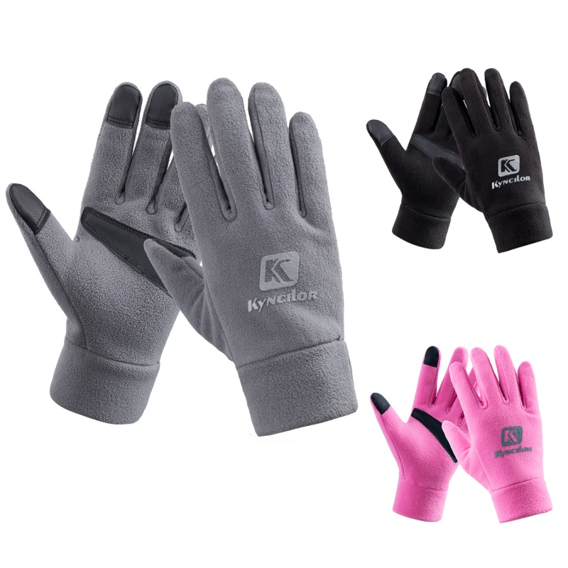 Winter Men Women Unisex Wind-proof Thermal Touch Screen Ski Gloves Outdoor Cycling Waterproof Fleece Snowboard Gloves