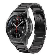 V-MORO 22mm Stainless Steel Strap For Gear S3 Band Replacement Wristbands For Gear S3 Classic frontier Smart watch