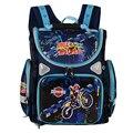 Парни школьные рюкзаки дети ортопедические школьные сумки для мальчиков рюкзаки детская книга сумка мотоцикл рюкзак дети ранец девушки