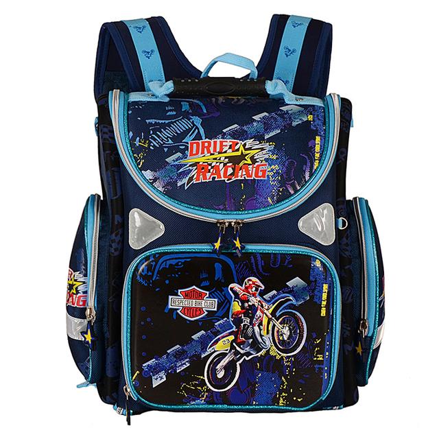 Niños de la escuela mochilas niños de la escuela ortopédica bolsas para niños mochilas bolso de libro de la moto mochila taleguilla de los cabritos de las muchachas