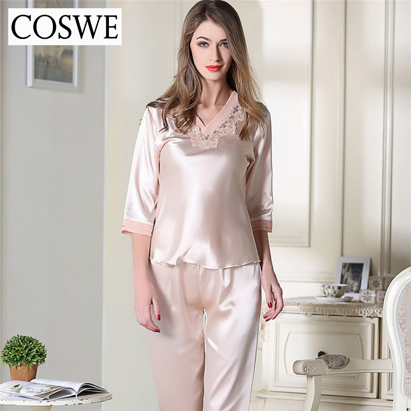 Rosegal focuses on women nightwear for a long time, seasonal women's sleepwear: lace insert pajamas Set and lapel long sleeve sleepwear sets; And types of women pajamas: lace sleepwear and printed ruffles sleepwear sets.