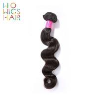 WoWigs Hair Loose Wave Malaysian Remy Hair 100% Human Hair Weaving 1/3/4 PCS Free Shipping Natural Color