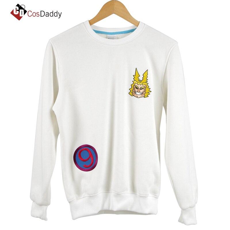 My hero academia Cosplay Costume Number 9 White Clothes Sweater Boku no Hero Academia Cosplay CosDaddy