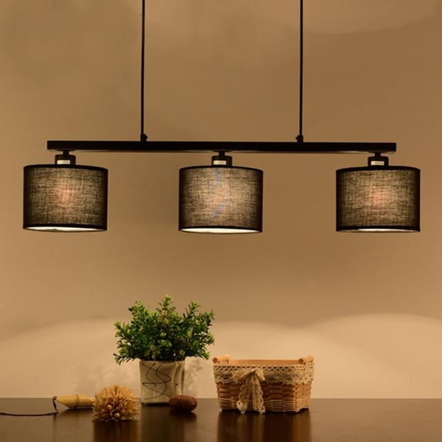 Europeo nórdico comedor colgante de luz de la lámpara 3 luces ...