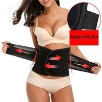 NINGMI Women Waist Trainer Modeling Belt Body Shaper Slimming Postpartum Belly Band Pulling Underwear Corsets Firm
