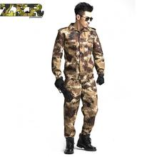 Outdoor Army Cs Camouflage Airsoft Uniform Jungle Camouflage Suit Tactical Soldier Combat Jacket Military Huking Clothing Set outdoor camouflage military uniform fashion jacket set female 3 sets of camouflage army fan supplies