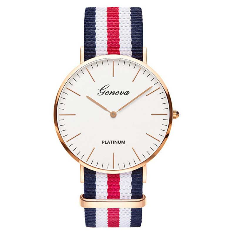 Hot Sale Nylon strap Style Quartz Women Watch Men Watch Fashion Casual Unisex Watches Lovers Wrist Watch horloges vrouwen montre