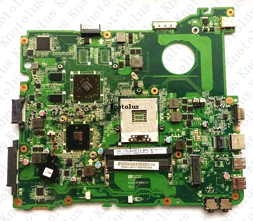 MB.NC806.001 DA0ZRCMB6C0 MBNC806001 for acer E732 E732Z laptop motherboard HM55 HD 5470 DDR3 Free Shipping 100% test ok nokotion laptop motherboard for acer aspire 5820g 5820t 5820tzg mbptg06001 dazr7bmb8e0 31zr7mb0000 hm55 ddr3 mainboard