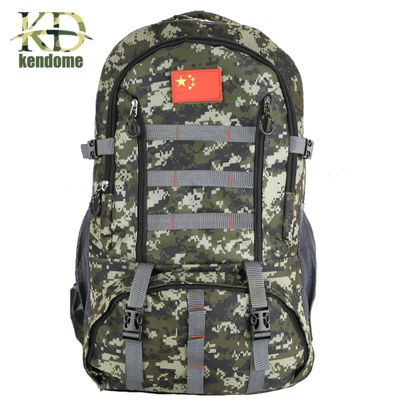 цены 2018 Hot Large 60L Military Tactical Backpack Rucksack Climbing Bag Outdoor Cycling Bag with Sports Camping Travel Hiking Bag