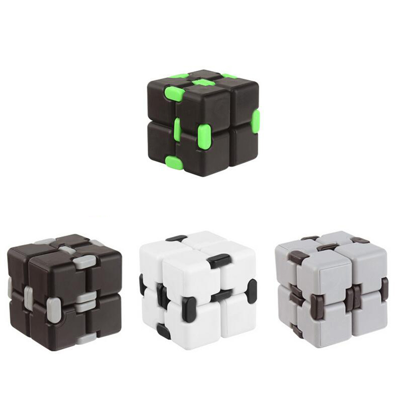 2017 New fidget spinner Cool Toy Luxury EDC Infinity Cube Mini For Stress Relief Fidget Anti
