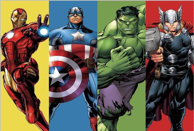 7x5FT Super Hero Iron Man Captain America Hulk Thor Avengers Frame Custom Photo Studio Backdrop Background Vinyl 220cm x 150cm