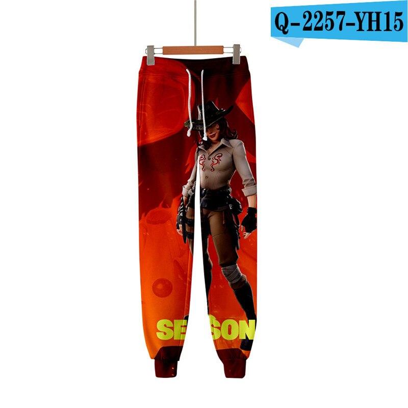 Fortnit Print Pants Men Pants Causal Kid Clothings Fortniter Kid Clothes Streetwear Print Clothings Women Clothes Men Streetwear