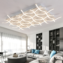Novelty Rectangle acrylic led ceiling lights for living room bedroom lamparas de techo led ceiling lamp fixture lndoor lighting недорого