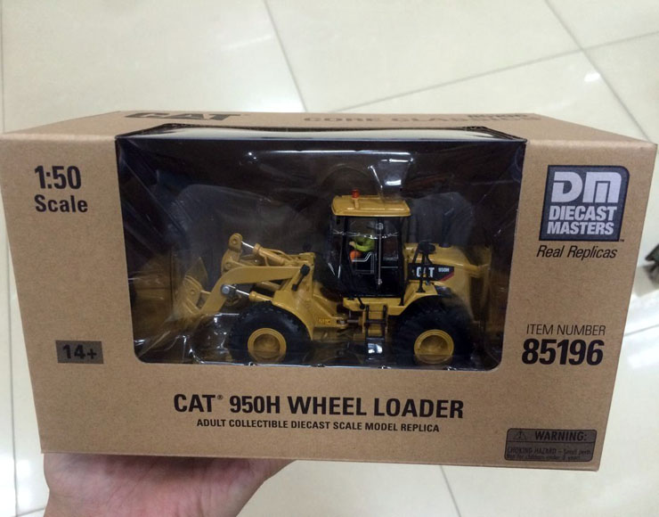 New Packing - 1/50 Cat 950H Wheel Loader Construction DieCast 85196 By DM Model Construction vehicles