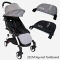 Новый 16 см ноги расширение Подножка для <font><b>yoya</b></font> Йо-йо + BabyThrone Детское время коляска Расширенный педаль детскую Аксессуары для колясок подножка дл...